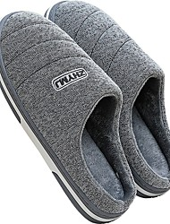 cheap -Men's Slippers House Slippers Casual Nubuck Shoes
