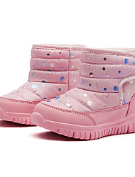 cheap -Boys' / Girls' Boots Snow Boots PU Little Kids(4-7ys) / Big Kids(7years +) Walking Shoes White / Black / Pink Fall / Winter / Booties / Ankle Boots