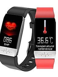 cheap -Body Temperature Measurement BakeeyMonitor Heart Rate Blood Pressure SpO2 Monitor Health Care GPS Run Route Track Smart Watch