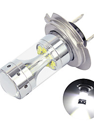 cheap -OTOLAMPARA 1pcs 60W Car LED Headlight H7 Plug and Play Installation Special for 2000-2010 Year Mazda MX-5/ BMW 3series/ X3/ Volkswagen Golf/ Polo/ Mercedes-Benz A B C Class LED Bulb H7 White Color