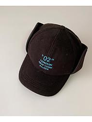 cheap -1pcs Kids / Toddler Unisex Active Black / Blue Letter Acrylic Hats & Caps Black / Blue / Yellow One-Size