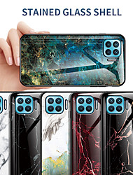 cheap -Case For OPPO Oppo Find X2 / Find X2 Pro Shockproof Back Cover Marble TPU