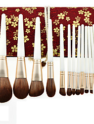 cheap -13 pcs poppy makeup brushes are influenced by the wolf small grape set eye shadow brush makeup set brush beauty tools