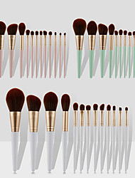 cheap -13 Pcs ins makeup brush set loose powder brush blush brush high gloss brush eye shadow