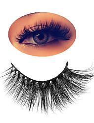 cheap -3D Mink Lashes False Eyelashes Fluffy Thick Cross Dramatic Eyelashes Eye Lashes Reusable Wispy Eyelash Extension Make up