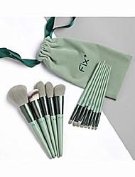 cheap -makeup tools complete set of fresh green beauty makeup makeup brush sijiqing makeup set tool quick-drying brush super soft 13 makeup brush set (color : green)