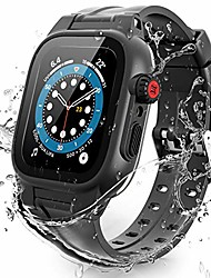 cheap -Smartwatch band with waterproof case/protector  For iWatch Apple Watch Series SE / 6/5/4/3/2/1  44 mm 40 mm 38 mm 42mm  shockproof impact resistant rugged case with built-in screen protector