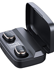 cheap -S17S Mini Wireless Bluetooth 5.0 Earphone LED Digital Display Press True Wireless Sports Headset HIFI Stereo Headset
