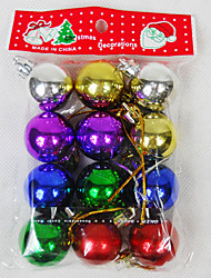 cheap -Christmas Pendant Ball 3cm 12pcs Christmas Decorations
