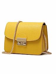 cheap -women small chain shoulder bags, designer crossbody purse evening clutch handbag, yellow