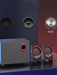 cheap -Classic Subwoofer Computer Speaker for TV Laptop PC Multimedia Desktop Stereo Wood Speaker Bass Combination Speaker