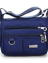 cheap -crossbody bag for women waterproof nylon shoulder bag messenger bag casual purse handbag 2020 new (deep blue)