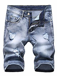cheap -but& #39;s ripped jean shorts stretch light blue us 36/ asian 38