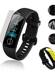 cheap -5pcs Ultra Clear TPU Soft Full Screen Protector cover For Huawei Honor Band 4 5 5i Sports SmartWatch Protective Film