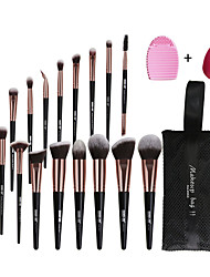 cheap -20 Shell Makeup Brush Set with Brush Bag Eye Brush Eye Shadow Brush Comfortable Soft Full Set