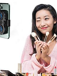 cheap -Mobile phone radiator game general mobile phone radiator portable dual fan bracket iPhone Samsung Huawei