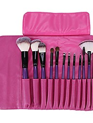 cheap -professional make up brushes eyeshadow with bag