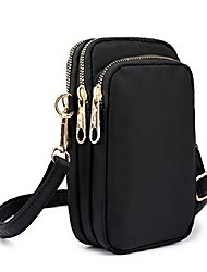 cheap -cell phone purse nylon mini crossbody bag smartphone wallet belt clip pouch