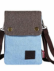 cheap -gcepls canvas small cute crossbody cell phone purse wallet bag with shoulder strap for iphone x,iphone 8 plus,iphone 6 6s 7 plus, samsung galaxy s7 edge s8 edge (fits with otterbox case)-blue