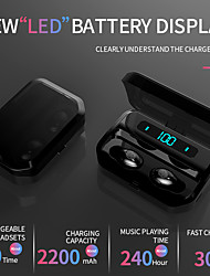 cheap -G12 Wireless Earbuds TWS Headphones Bluetooth5.0 Stereo with Volume Control IPX5 Mobile Power for Smartphones Smart Touch Control for Mobile Phone