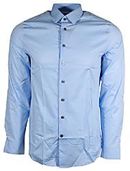 cheap -men's extra slim buttondown shirt (xl, light blue)