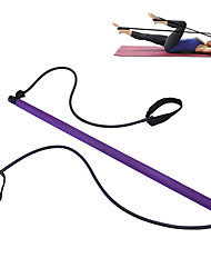 cheap -Exercise Bands / Resistance bands Pilates Ring 1 pcs Resistance Bands Sports Stainless Steel + Plastic TPE EVA Home Workout Yoga Gym Workout Adjustable Length Portable Removable Handle Stretchy Fat