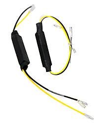 cheap -2Pcs For LED Turn Signal Indicator Motorcycle Resistor Decoder LED Load Resistor Solve Blinker Error Moto Refit Accessories