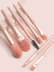 cheap -7 Mini Makeup Brush Set Portable Eye Shadow Brush Loose Powder Brush Beauty Tool