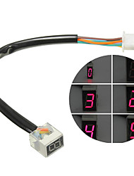 cheap -Digital Display Speedometer Indicator Motorcycle Display Shift Lever Sensor Led Universal Digital Gear Indicator Motorcycle