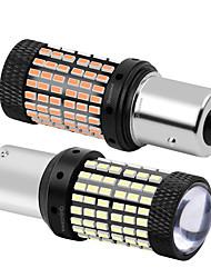 cheap -2PCS BA15S P21W 7506 Super Bright LED Car Tail Brake Bulb P21W Auto Backup Reverse Lamp 1156 Turn Signal Daytime Running Light CAN-bus LED Bulb
