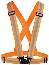 cheap -reflective vest,for high visibility all day and night with emergency identification label.