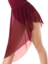 cheap -Ballet Skirts Solid Women's Training Performance High Mesh