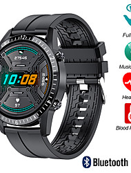 cheap -M9 Smartwatch Fitness Running Watch Bluetooth 1.3 inch Screen IP 67 Waterproof Heart Rate Monitor Blood Pressure Measurement Pedometer Call Reminder Activity Tracker 38mm Watch Case for Android iOS
