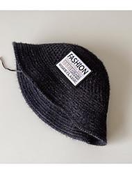 cheap -1pcs Kids / Toddler Unisex Active Black / Blue Letter Acrylic Hats & Caps Black / Blue / Khaki One-Size
