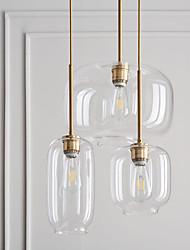 cheap -15 cm Pendant Light Glass Single Design Nordic Style Transparent Amber Full Finger Modern Electroplated 110-120V 220-240V