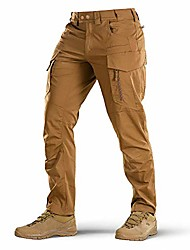 cheap -Hiking Pants Trousers Outdoor Breathable Quick Dry Sweat-wicking Wear Resistance Cargo Pants Bottoms khaki Camping / Hiking Hunting Fishing 42 40 44 46 48