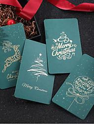 cheap -5pcs Christmas Decorations Christmas Ornaments Card 16*10.5 cm