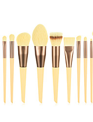 cheap -Professional Makeup Brushes 12pcs Cute Soft Full Coverage Lovely Comfy Wooden / Bamboo for Makeup Tools Blush Brush Foundation Brush Makeup Brush Lash Brush Eyebrow Brush Eyeshadow Brush