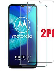 cheap -2PCS Motorola Screen Protector MOTO G8 Power Lite / G6 Play / G Stylus / E7 / E6S 2020 / E5 Plus / E5 Play Go /  One Hyper High Definition (HD) Front Screen Protector Tempered Glass