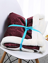 cheap -Comfort Luxury Faux Fur Throw Blanket - Ultra Soft and Fluffy - Plush Throw Blankets for Couch Bed and Living Room - Fall Winter and Spring