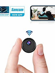 cheap -Mini Camera Wifi 1080p Hd Camera Wireless Small Cam With Super Night Vision Motion Detection And Phone App Remote Viewing For Home Security