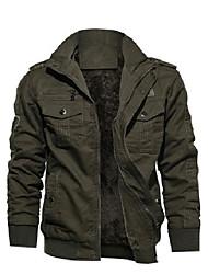 cheap -mens winter jacket big and tall snow skiing windbreaker thick military bomber jacket navy