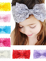 cheap -1pcs Toddler / Infant Girls' Basic White / Blue / Red Solid Colored Bow / Pure Color Spandex / Cotton Hair Accessories White / Blue / Purple One-Size