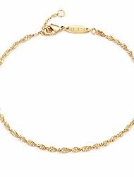 cheap -rope chain bracelet,dainty 14k gold plated tiny 2mm link bracelet for women girls