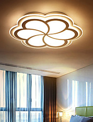 cheap -42/52/62 cm Led Modern Flower Shape Ceiling Light Simple Personality Thin Romantic Fashion Wedding Room Bedroom Living Room
