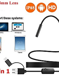 cheap -1200p Three-in-one Endoscope 5m High-definition Industrial Car Pipeline Dental Usb Mobile Phone Camera 3.5m