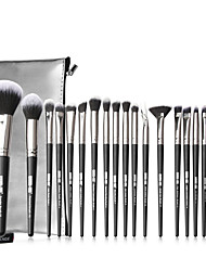 cheap -20 Makeup Brush Set With Brush Bag Full Set of Beauty Tools Comfortable and Cute