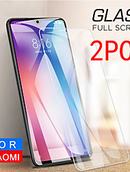 cheap -2PCS Xiaomi Screen Protector Mi Note 10 Pro / Mi Note 10 Lite / Mi Note 10 / Mi Note 2 High Definition (HD) Front Screen Protector  Tempered Glass