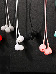 cheap -Wired In-ear Earphone 3.5mm Audio Jack Stereo with Microphone for Sport Fitness