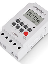 cheap -Heavy Load 30A 12VDC 7 Days Weekly Digital Electronic Lighting Daily Timer with Interval 1 Second and Power Direct Output